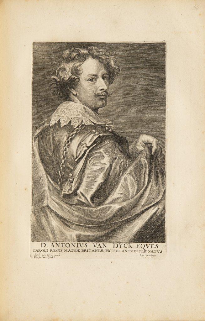 ANTHONIS VAN DYCK 1599 - 1641: LE CABINET DES PLUS BEAUX PORTRAITS DE PLUSIEURS PRINCES ET - Image 7 of 9