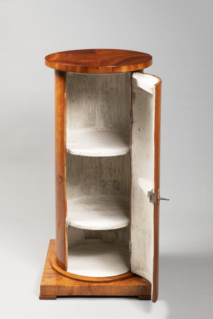 "A ""SOMNO"" NIGHTSTAND FROM THE BIEDERMEIER PERIOD First third of 19th century Bohemia Cherry wood - Image 2 of 2"