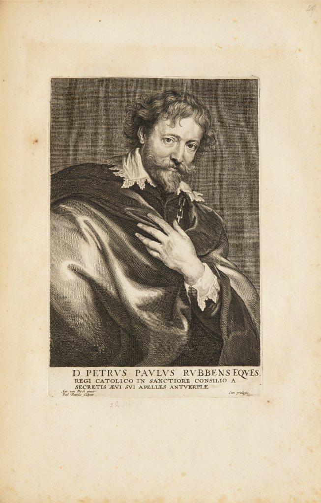 ANTHONIS VAN DYCK 1599 - 1641: LE CABINET DES PLUS BEAUX PORTRAITS DE PLUSIEURS PRINCES ET - Image 3 of 9