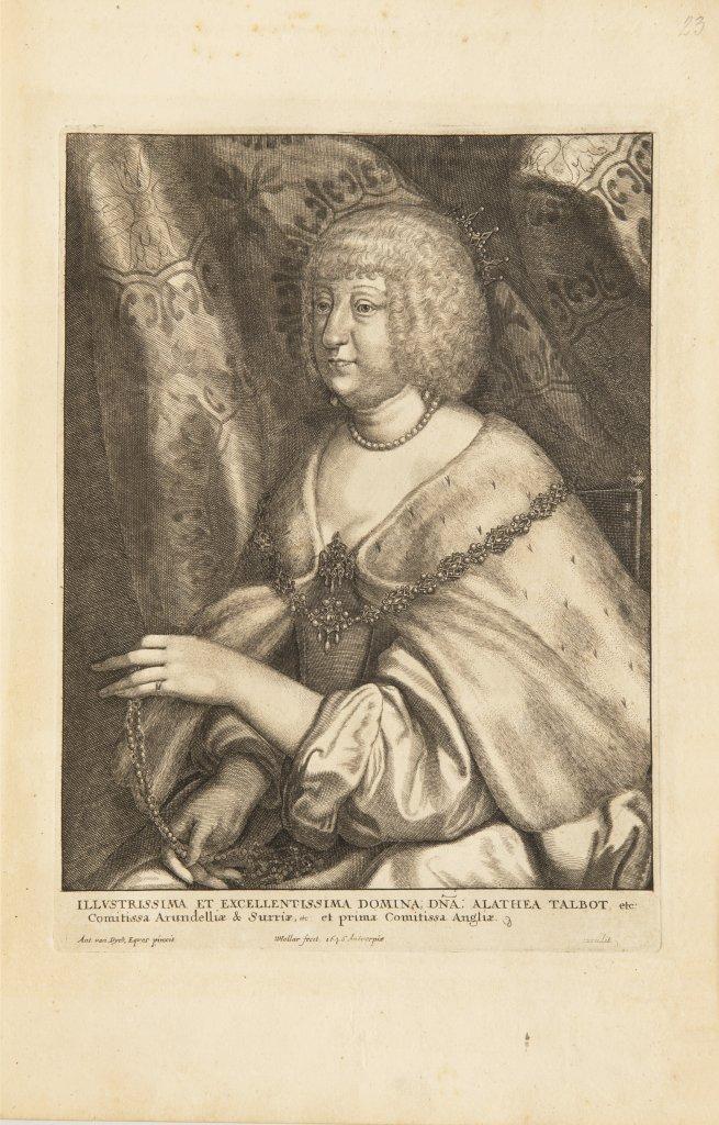 ANTHONIS VAN DYCK 1599 - 1641: LE CABINET DES PLUS BEAUX PORTRAITS DE PLUSIEURS PRINCES ET - Image 4 of 9