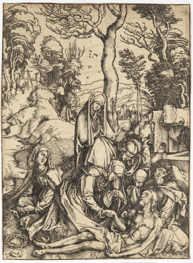 ALBRECHT DÜRER 1471 - 1528: THREE PRINTS FROM A SERIES OF TWELVE ILLUSTRATIONS OF THE PASSION 1510 - Image 3 of 3