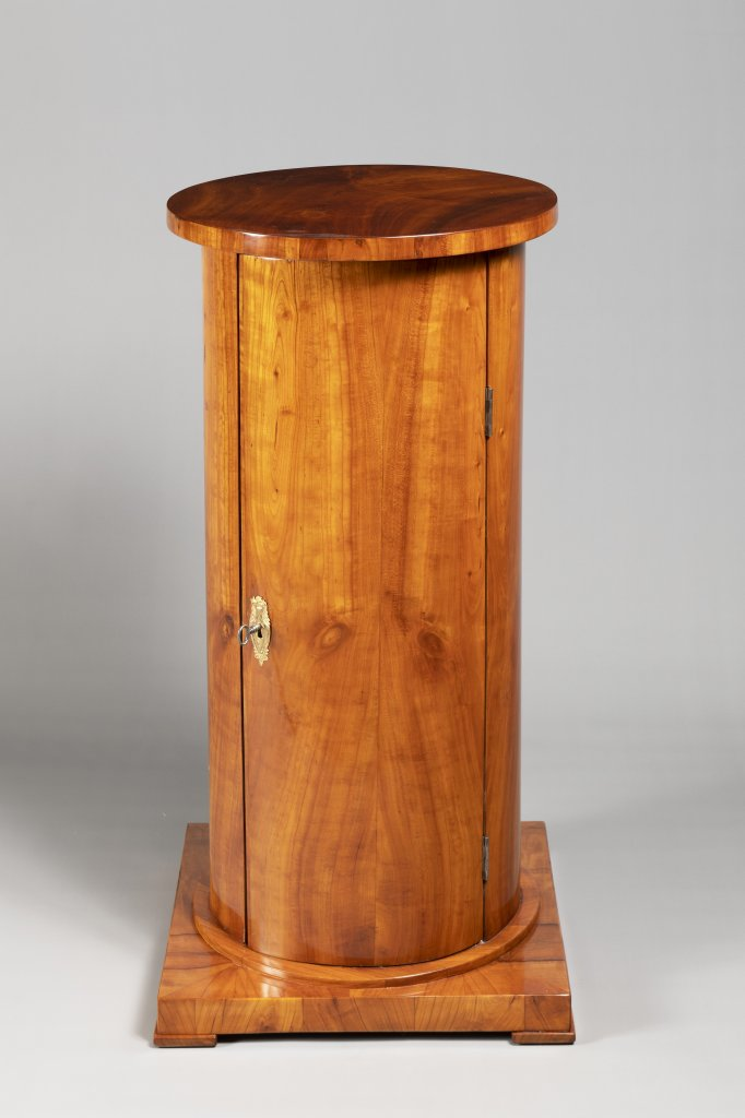 "A ""SOMNO"" NIGHTSTAND FROM THE BIEDERMEIER PERIOD First third of 19th century Bohemia Cherry wood"