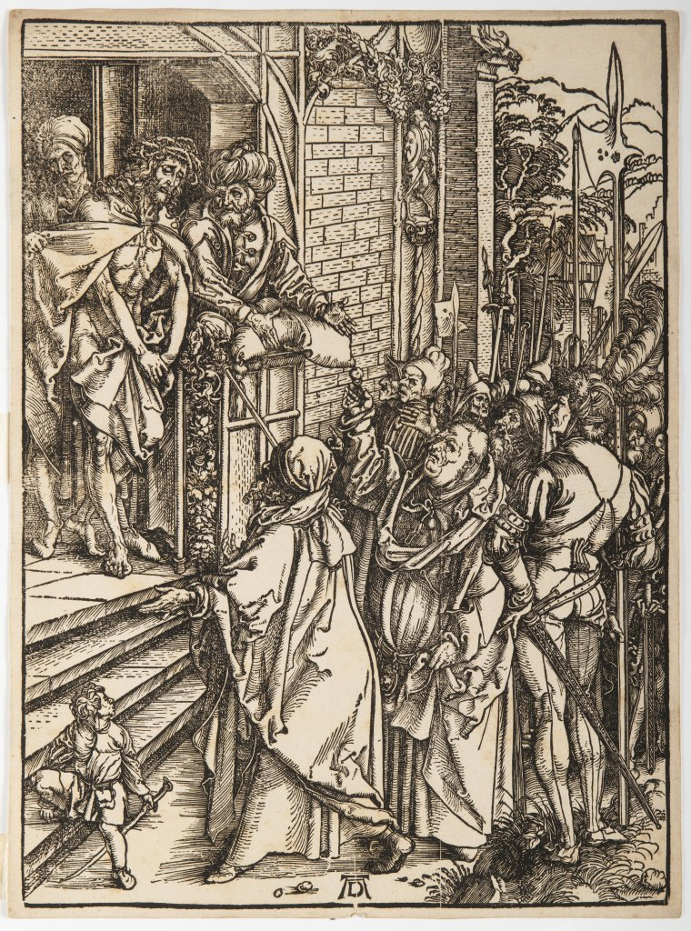 ALBRECHT DÜRER 1471 - 1528: THREE PRINTS FROM A SERIES OF TWELVE ILLUSTRATIONS OF THE PASSION 1510