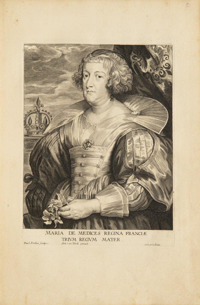 ANTHONIS VAN DYCK 1599 - 1641: LE CABINET DES PLUS BEAUX PORTRAITS DE PLUSIEURS PRINCES ET - Image 8 of 9
