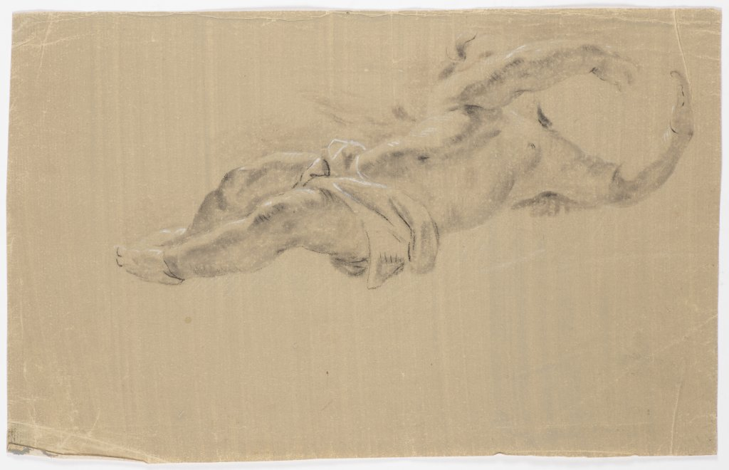 JOSEF NAVRÁTIL 1798 - 1865: A STUDY OF CUPIDS Second third of 19th century Charcoal and white