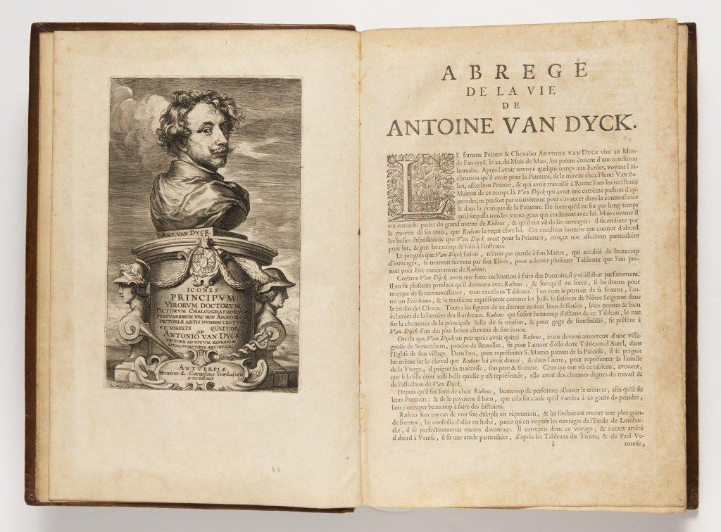 ANTHONIS VAN DYCK 1599 - 1641: LE CABINET DES PLUS BEAUX PORTRAITS DE PLUSIEURS PRINCES ET - Image 2 of 9