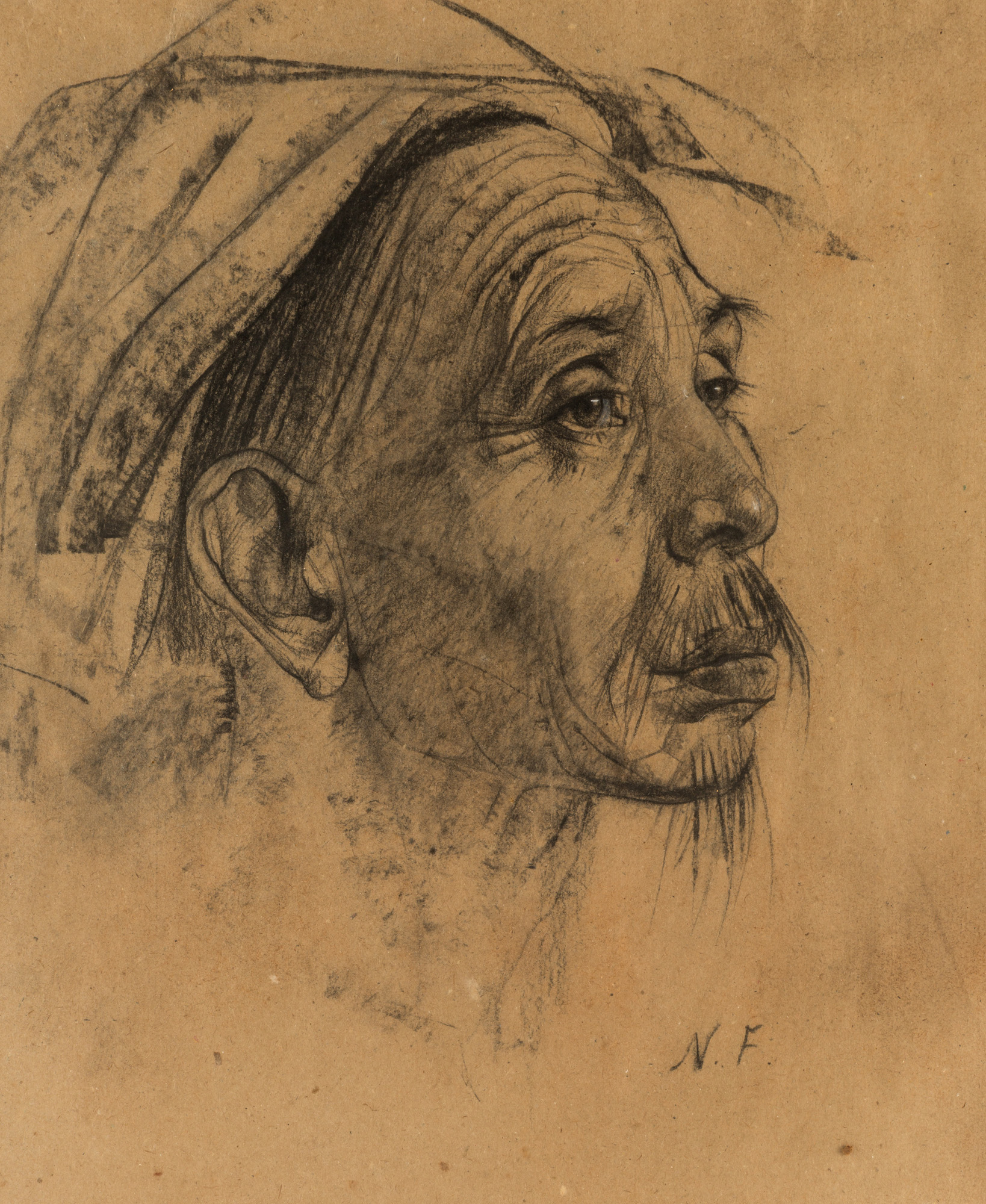 Nicolai fechin russian 1881 1955 portrait of a balinese for Nicolai fechin paintings for sale