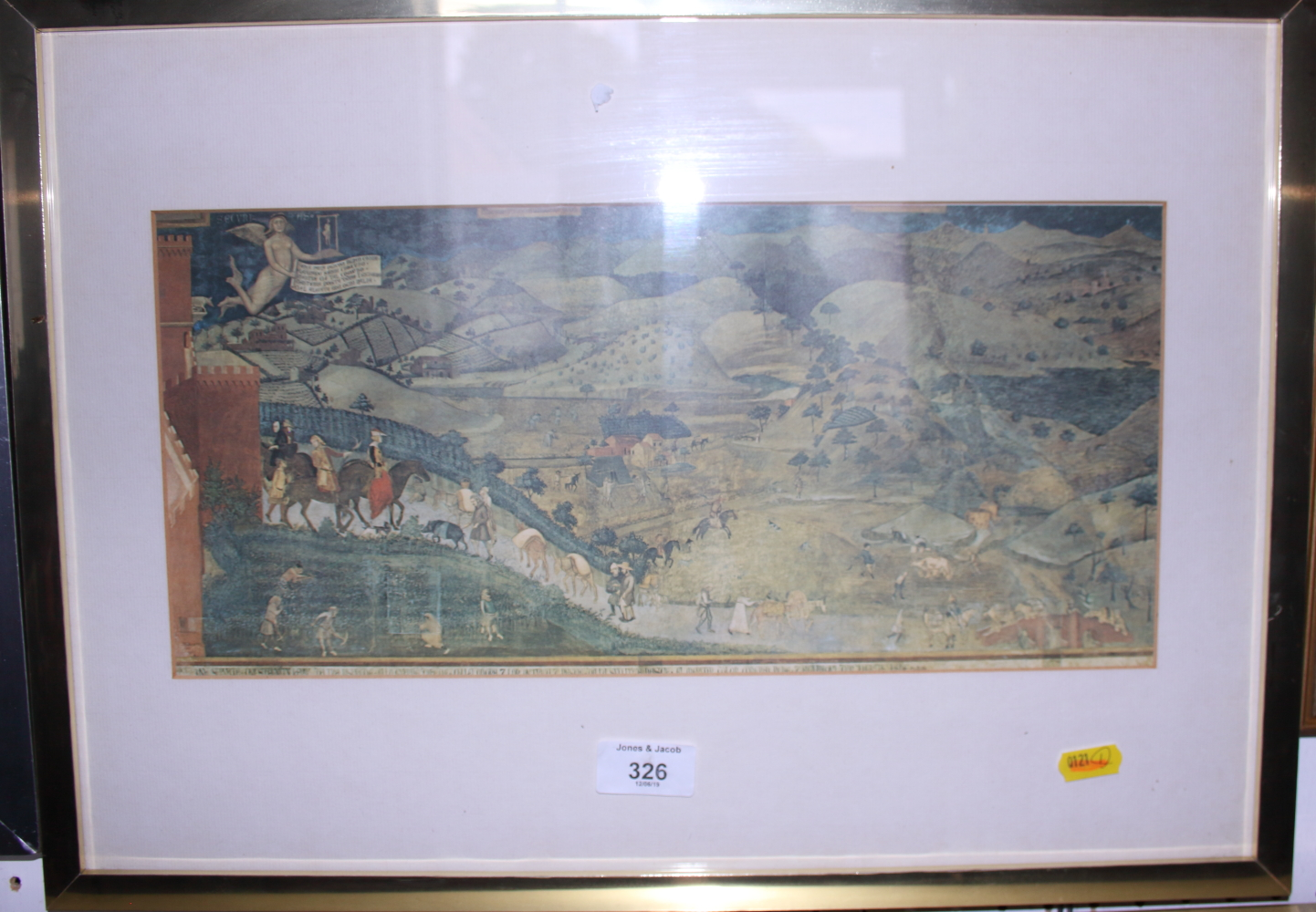 """Lot 326 - Paul David Jackson: two signed limited edition colour prints, """"The Village upon the Hill"""", 94/500,"""