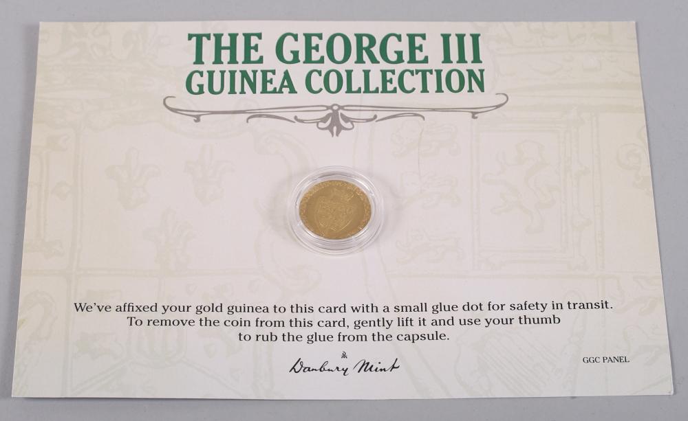 Lot 291 - A George III guinea, dated 1788
