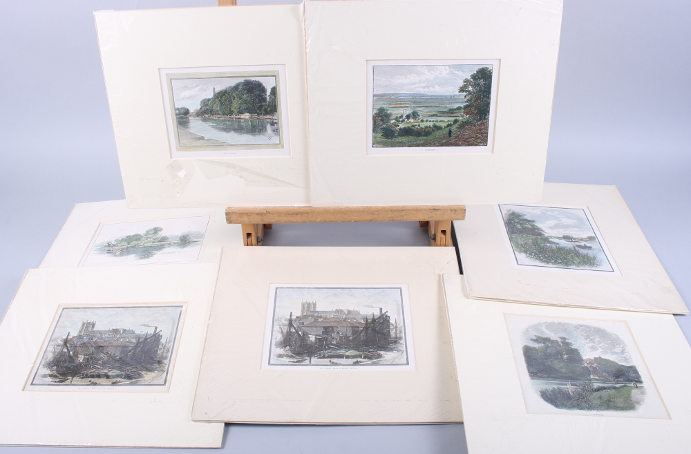 Lot 334 - Bart Thomas: three prints, figures, and a collection of prints, houses and other subjects