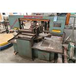 """12"""" X 18"""" ROLL-IN KIZZER HS1318 HORIZONTAL BAND SAW"""