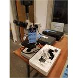 (LOT) MICROSCOPE WITH TAPE TESTER AND FORCE GAGE