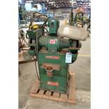 2-HP SETCO D.E. GRINDER WITH DUST COLLECTOR IN BASE