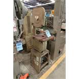 """14"""" WT VERTICAL BAND SAW"""
