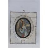 Lot 592 - A very good quality oval portrait miniature of an 18th Century lady, possibly Lady Graham,