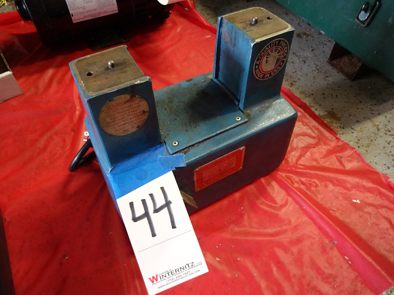 Lot 44 - RECO MODEL SC INDUCTION BEARING HEATER