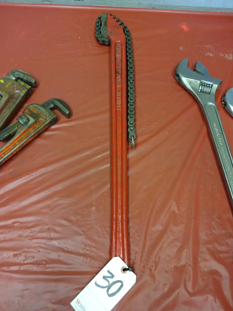 "Lot 30 - REED 5"" MODEL WA36 PIPE & FITTING WRENCH"