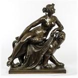 Lot 119 - JOHANN HEINRICH VON DANNECKER (1758-1841), Ariadne Sobre Pantera,