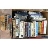 Quantity of detective novels including Gollancz Yellow Jackets, The Thriller Book Club, Conan