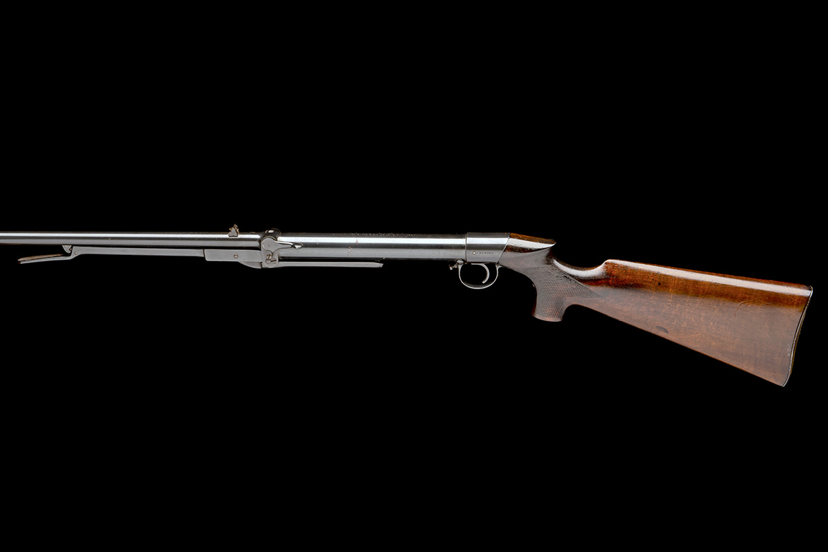 Lot 112 - LINCOLN JEFFERIES, BIRMINGHAM A .177 UNDER-LEVER AIR-RIFLE, MODEL 'H. THE LINCOLN', serial no. 2302,