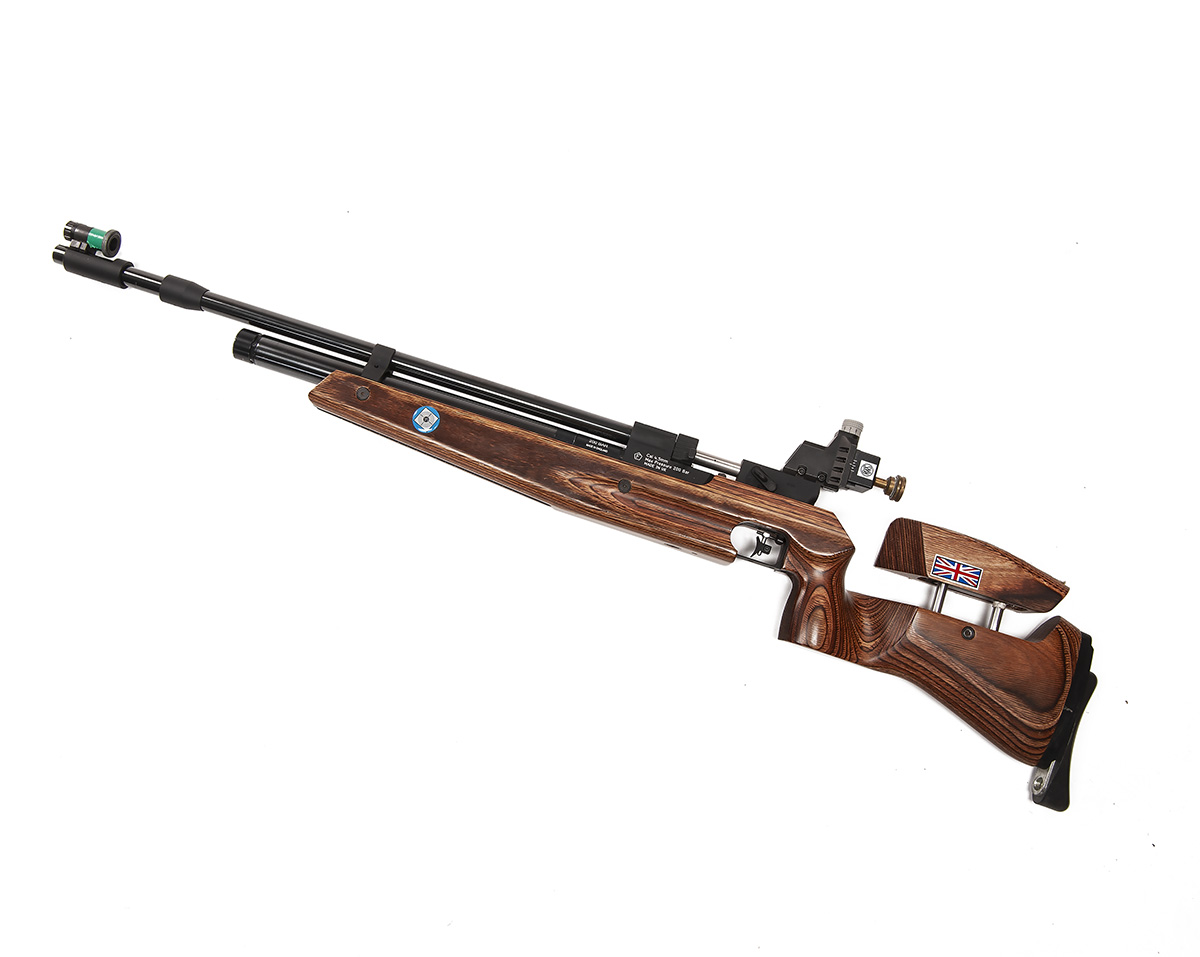 Lot 123 - RWS, UK A CASED .177 SINGLE-SHOT PRE-CHARGED PNEUMATIC MATCH AIR-RIFLE, MODEL 'CA100', serial no.