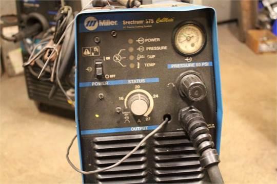 Miller Spectrum 375 >> Miller Spectrum 375 Cutmate Dc Plasma Cutting System Stock No