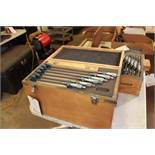 """Phase II 6""""-12"""" Micrometer Set Carbide tipped, .0001 Res"""