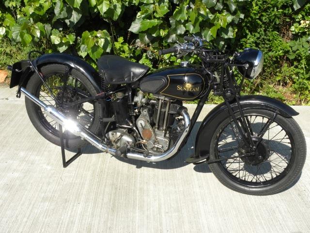 Lot 52 - 1936 Sunbeam Model 8 350cc