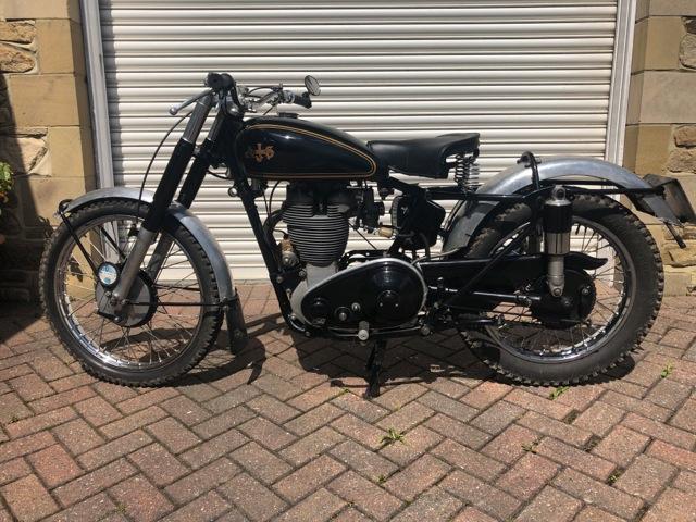1953 AJS 18S 500CC