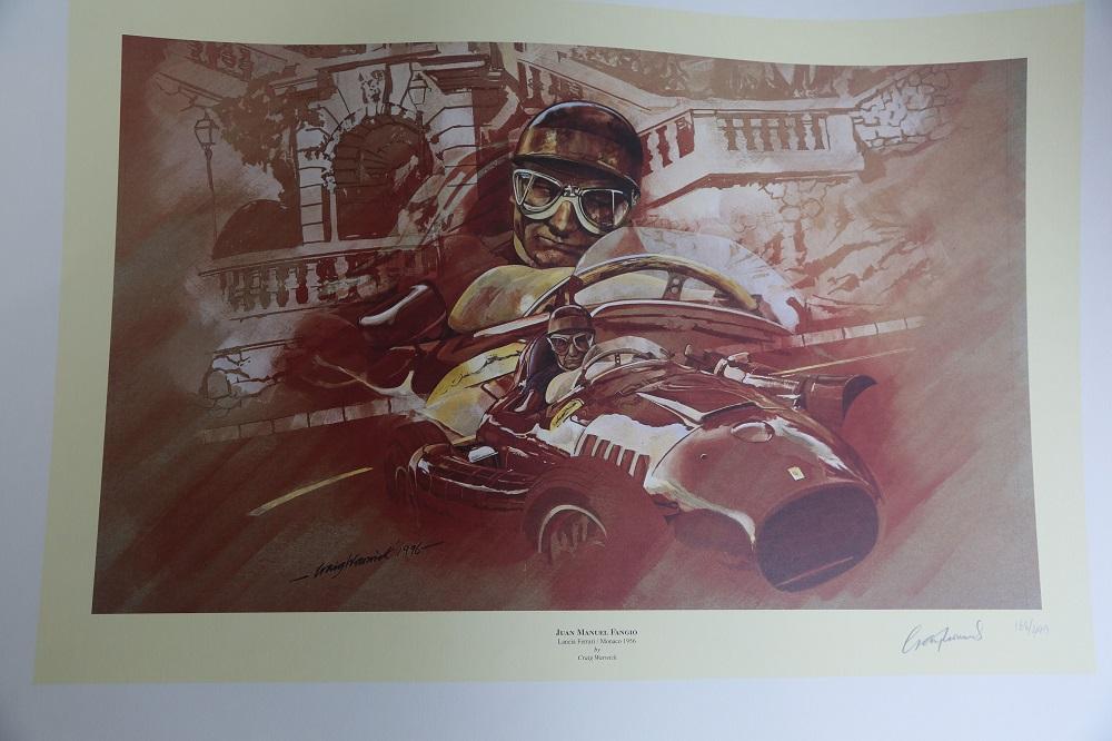 "Lot 47 - Craig Warwick: ""Juan Manuel Fangio"""