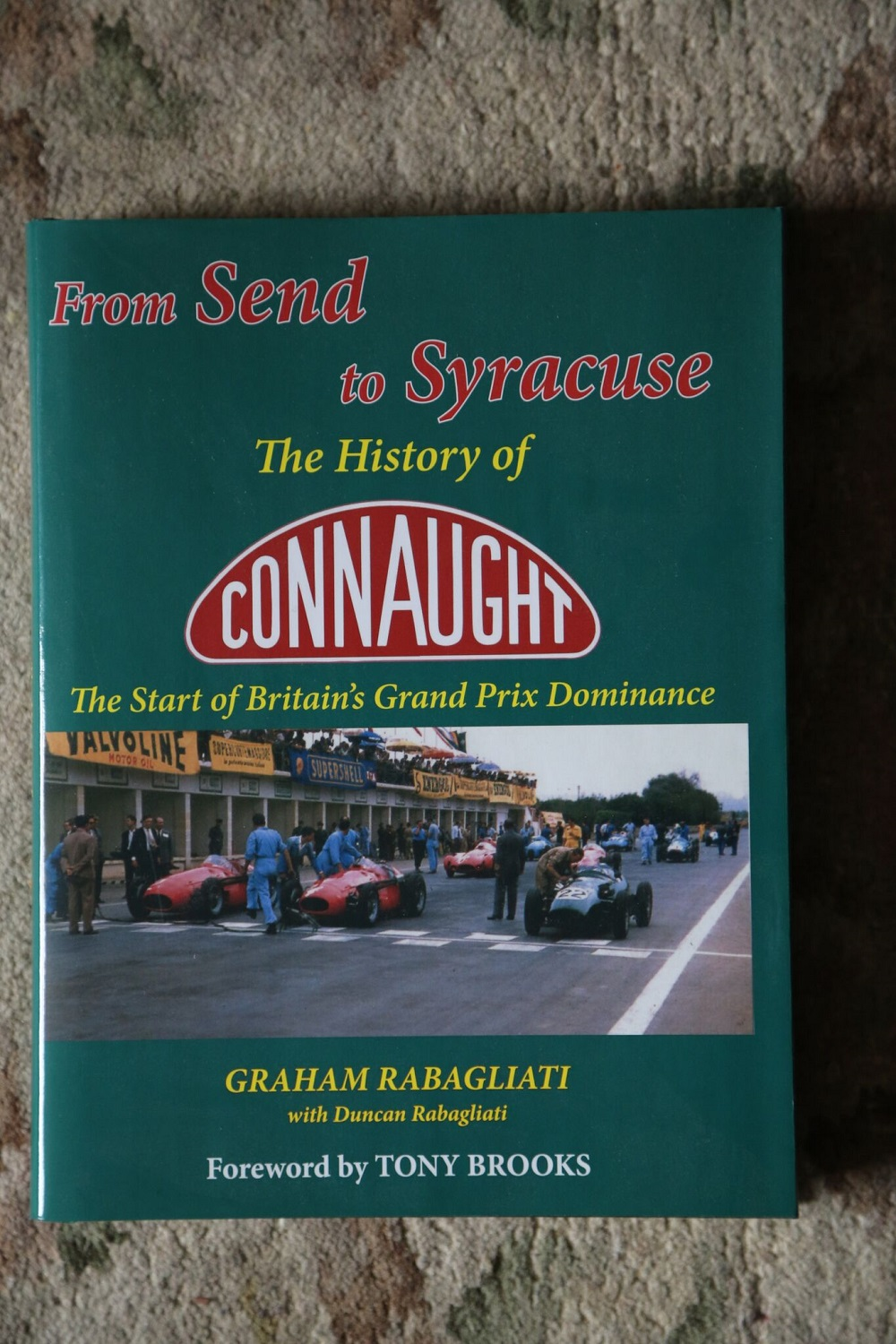 "Lot 39 - Connaught: Signed copy of ""Send to Syracuse"""