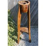 Royal Flying Corps: 48 Inch Plant Stand made from a Propeller