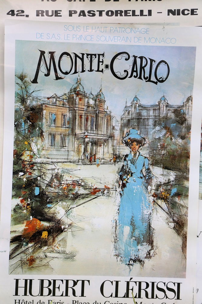 Lot 37 - Monte Carlo: Collection of 7 Posters depicting Monaco Life