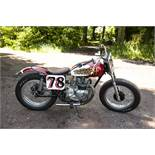 1964 Triumph 3TA speed twin motorcycle