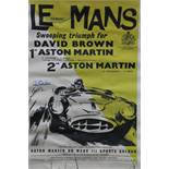 Unframed Poster (40 x 28 inches) - Le Mans winning DBR1 with Roy Salvadori & Paul Frere