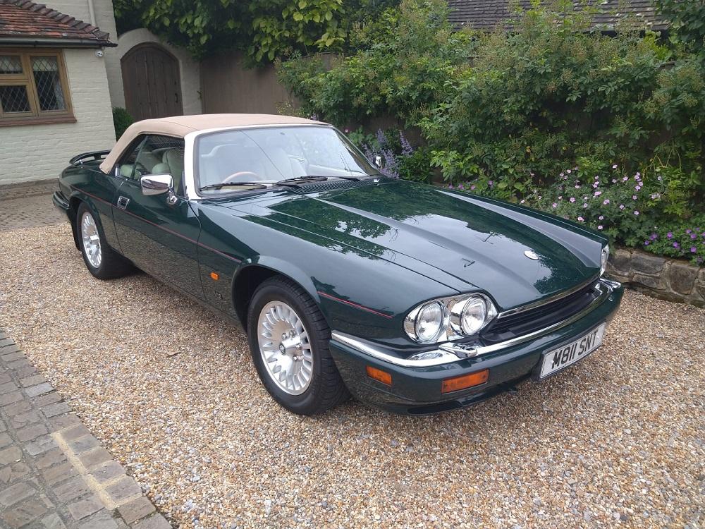 Lot 67 - 1994 Jaguar XJS V12 Convertible - in fine condition