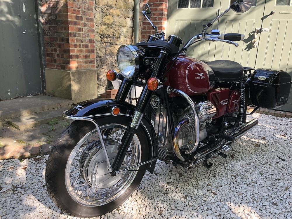 Lot 51 - 1972 Moto Guzzi Eldorado 850: