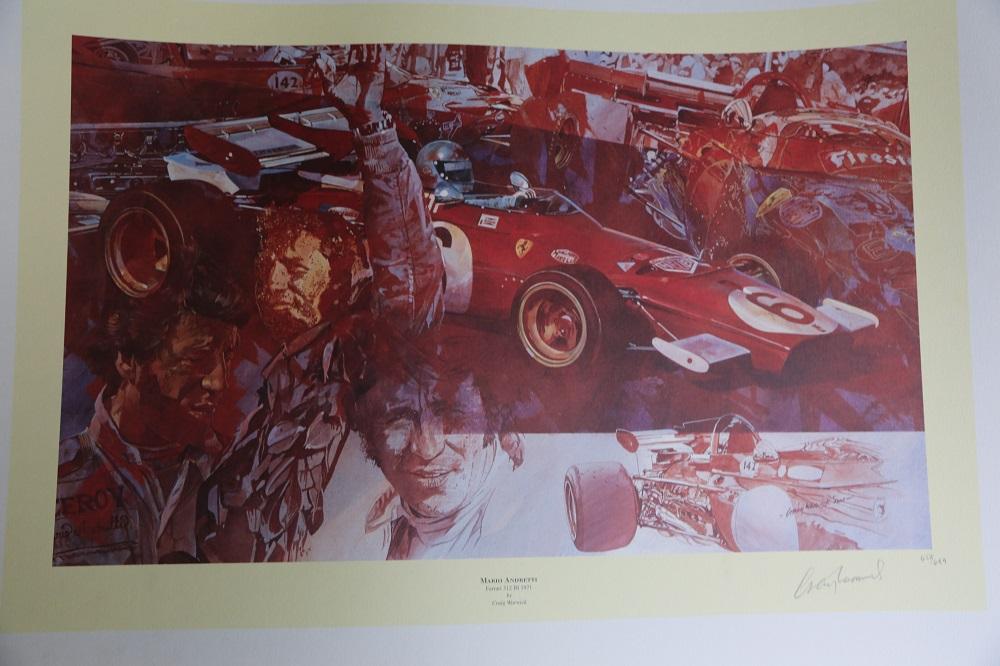 "Lot 46 - Craig Warwick: ""Mario Andretti"""