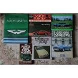 6 signed Aston Martin titles from the library of a motoring enthusiast.