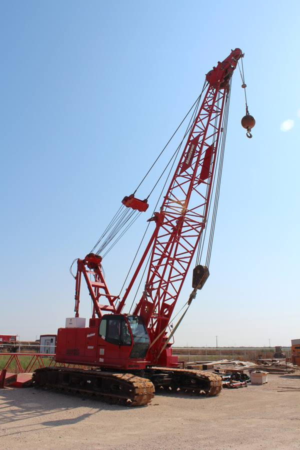 Manitowoc Model 10000 100 Ton Self-Erecting Crawler Crane