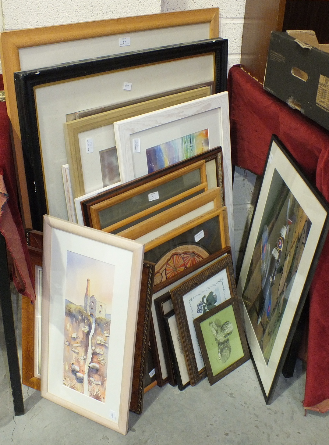 Lot 57 - A collection of various pictures and prints.
