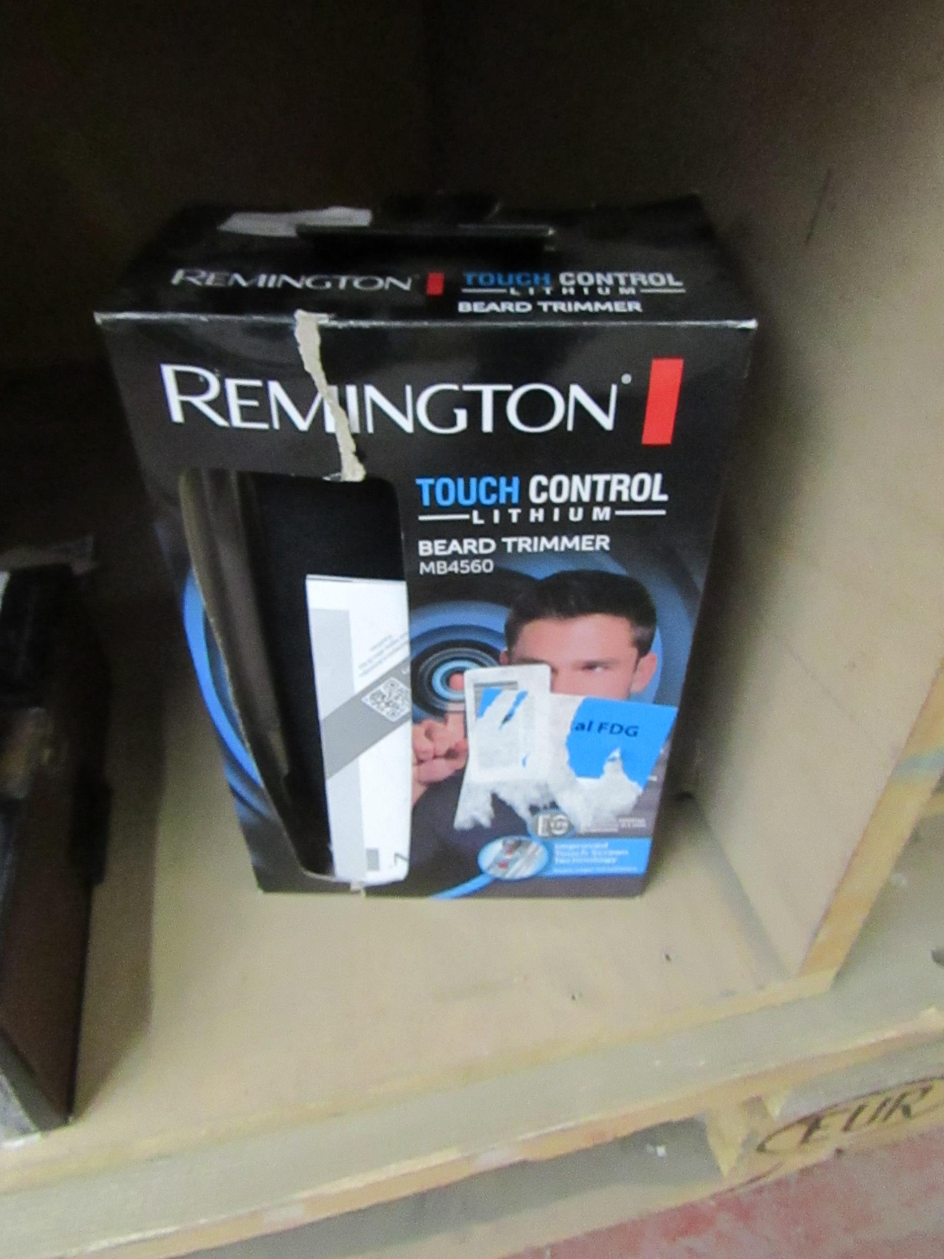 Lot 99 - Remington Touch Control beard trimmer, untested and boxed.