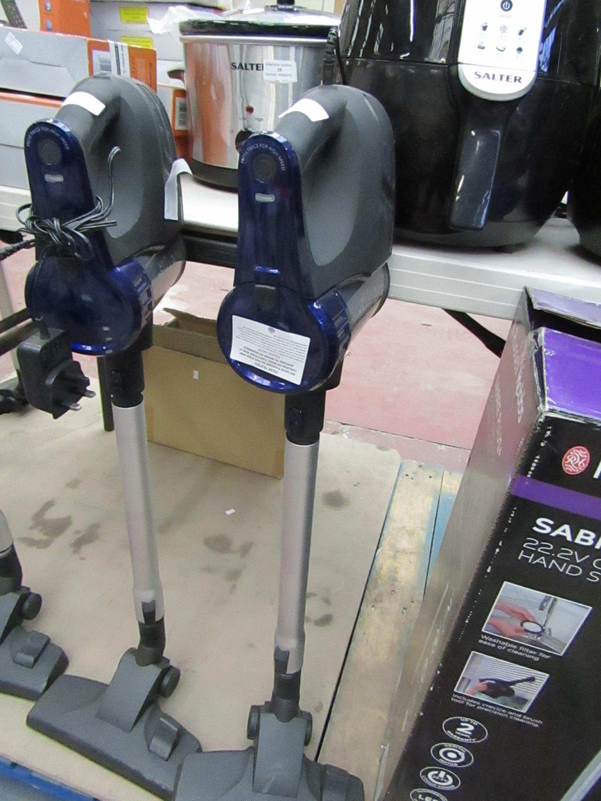 Lot 40 - Beldray cordless quick vac lite, tested working.