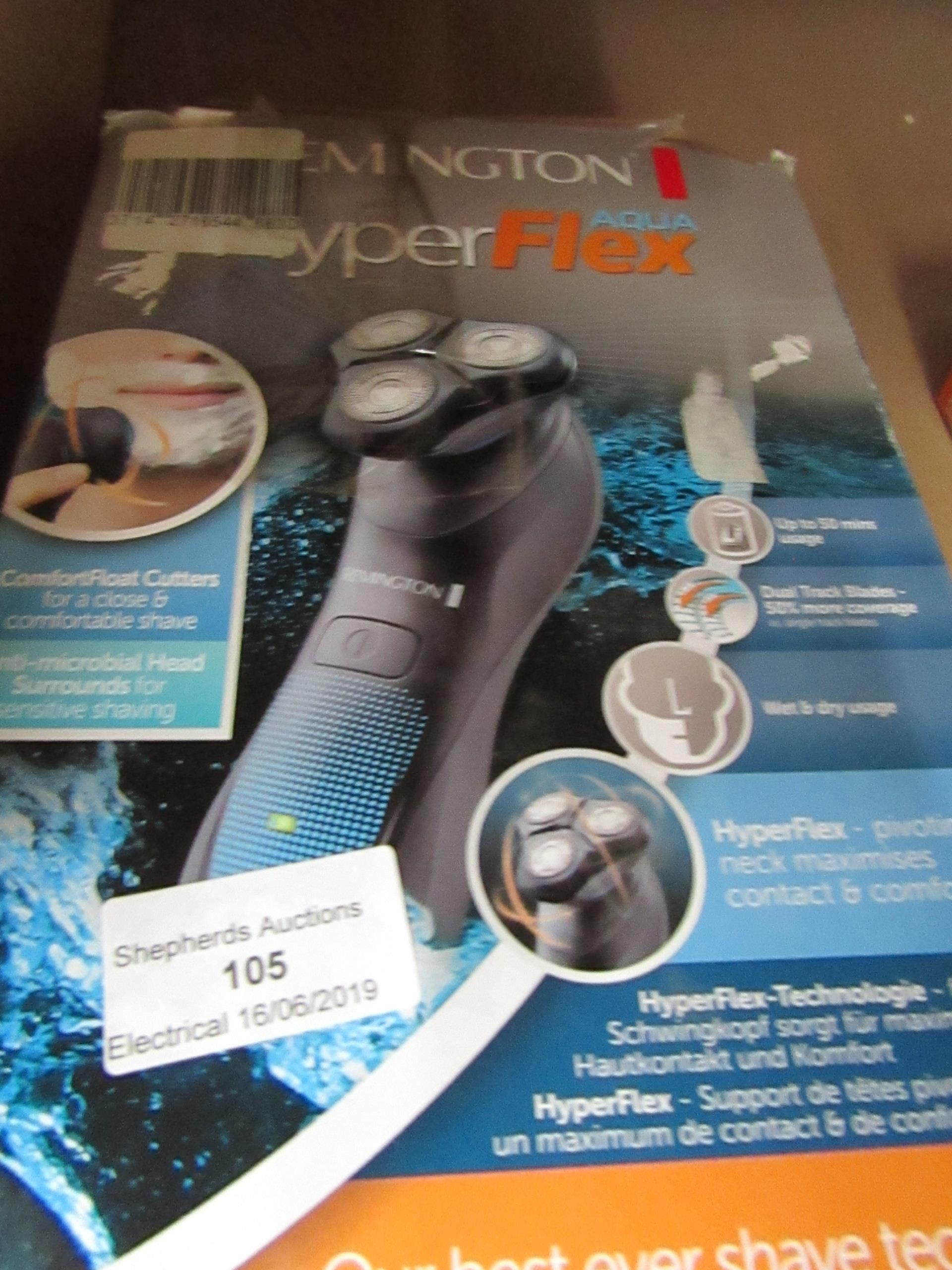 Lot 105 - Remington HyperFlex beard trimmer, untested and boxed.