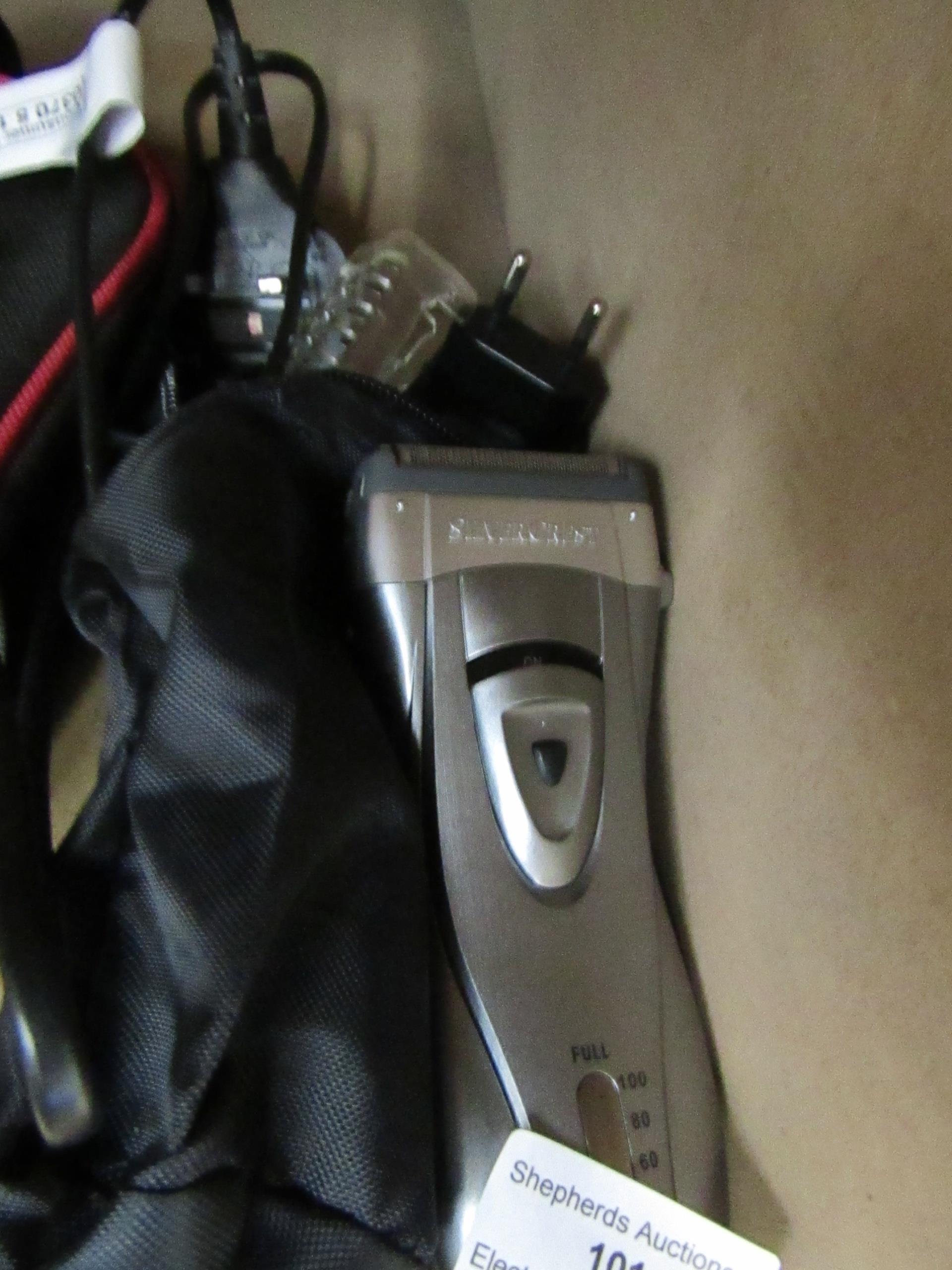 Lot 101 - Silver Crest men's beard trimmer, untested.