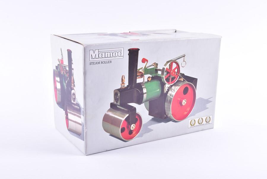 Lot 86 - A Mamod model steam roller in original box, appears unused.