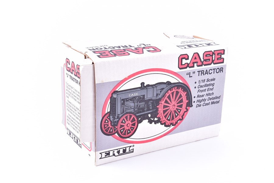 Lot 59 - A Schylling Collector Series tinplate 'Captain Benjamin's Record Car' together with a ERTL Case '