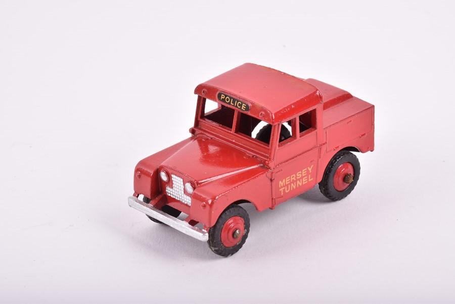 Lot 11 - A Dinky Toys 273 RAC Patrol Mini Van together with a 274 AA Patrol Mini Van, a 255 Mersey Tunnel