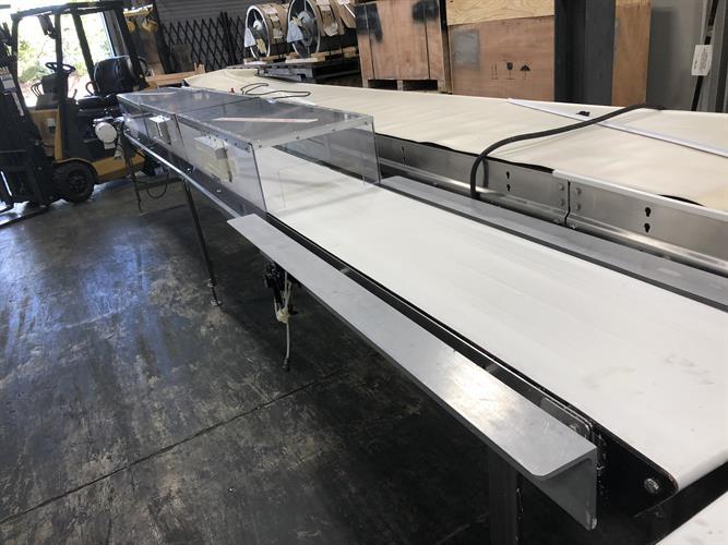 "Dorner 16"" wide x 20-ft Long Stainless Steel Conveyor - Image 4 of 6"