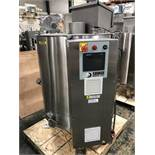 Savage 1250-lb Stainless Steel Chocolate Melter with Transfer Pump - Savage air-operated transfer